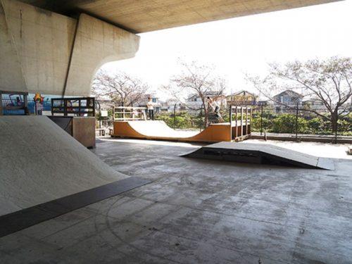 湘南夢わくわく公園スケートボード場