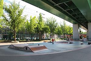 若宮大通公園スケート広場