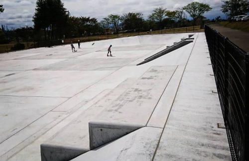七ヶ浜町生涯学習センタースケートパーク